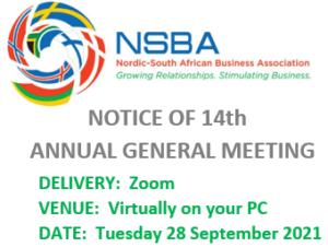 NSBA: 14th Annual General Meeting